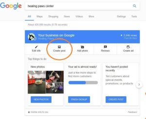 New features in Google My Business can help your search results.